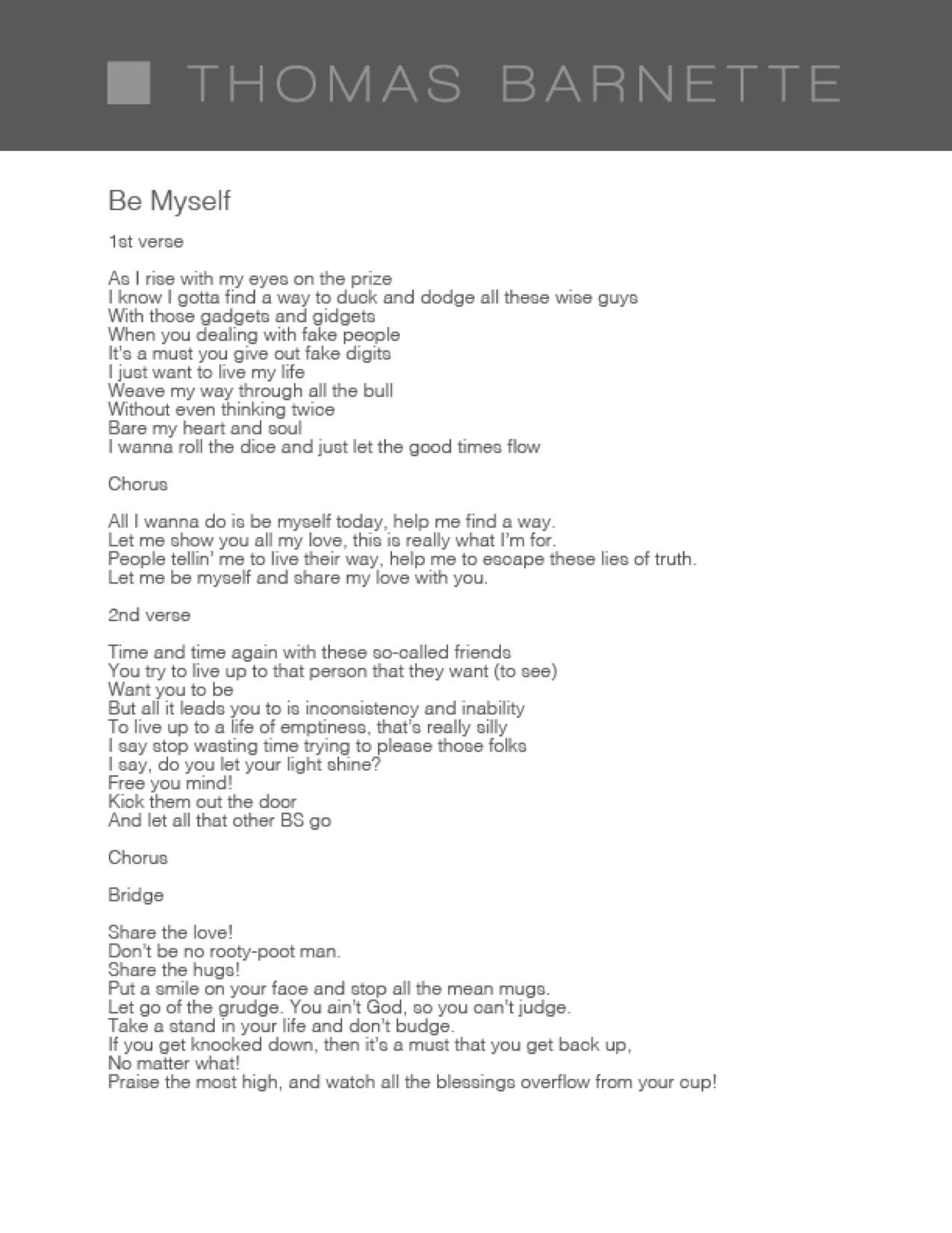 all i wanna do lyrics